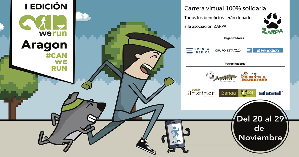 Carrera virtual Can We Run Aragón