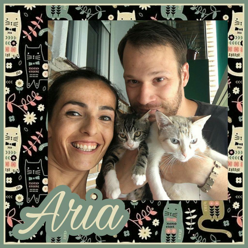 ¡Aria, antes Mila, adoptada!