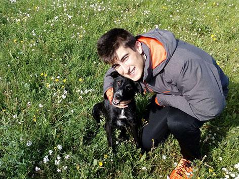 ¡Laika, antes Kina, adoptada!