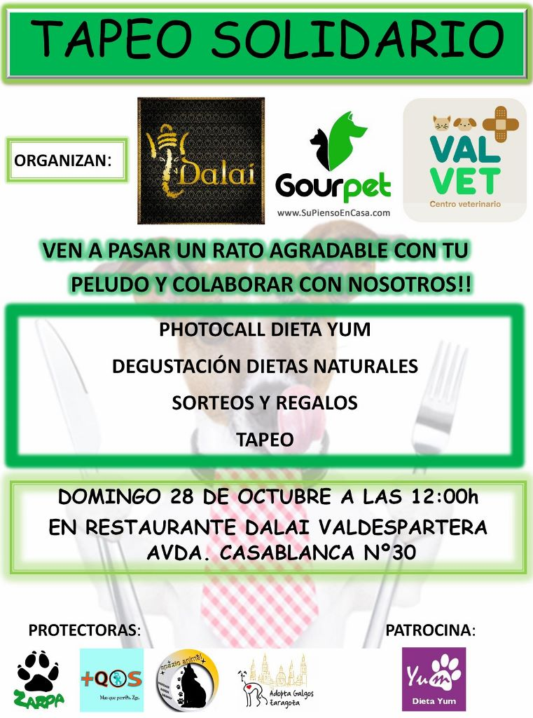 Tapeo Solidario Gourpet