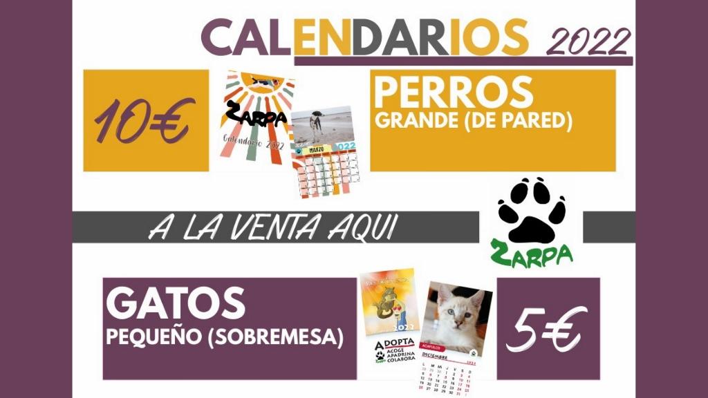Calendarios Zarposos 2022