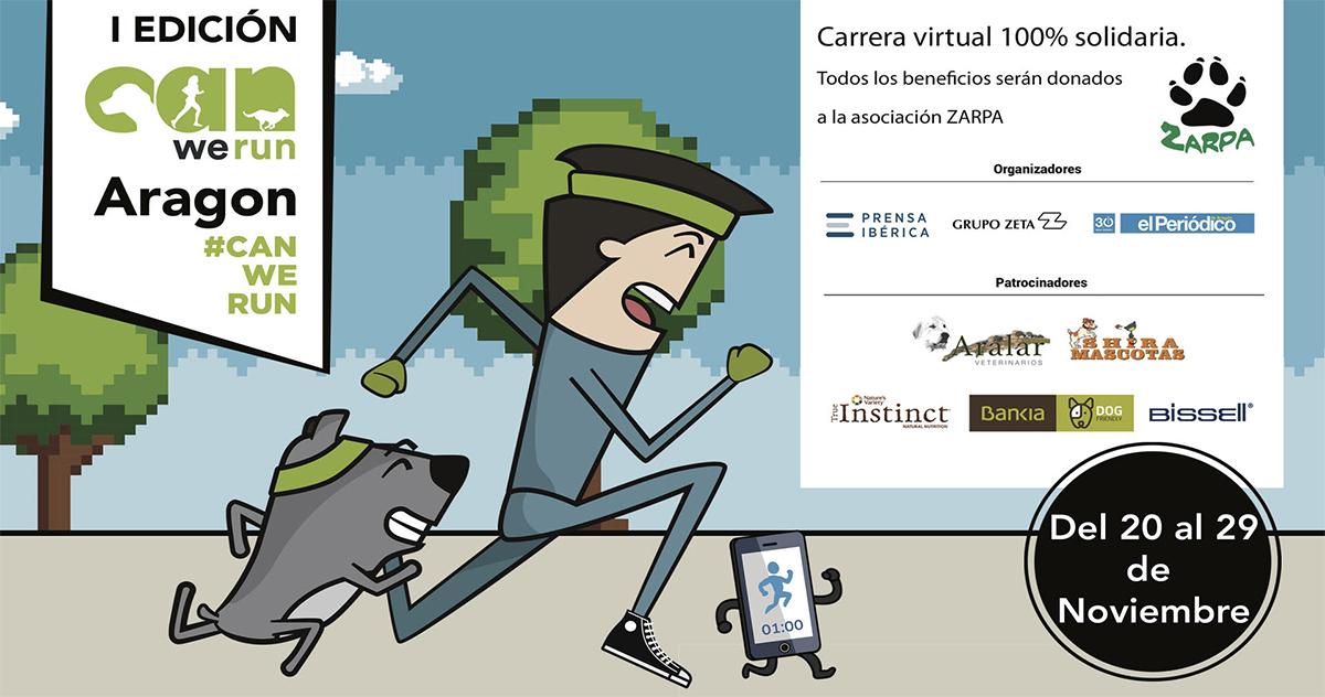 Carrera virtual Can We Run Aragón