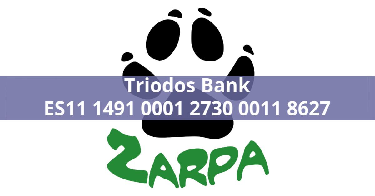 Nueva cuenta corriente de ZARPA