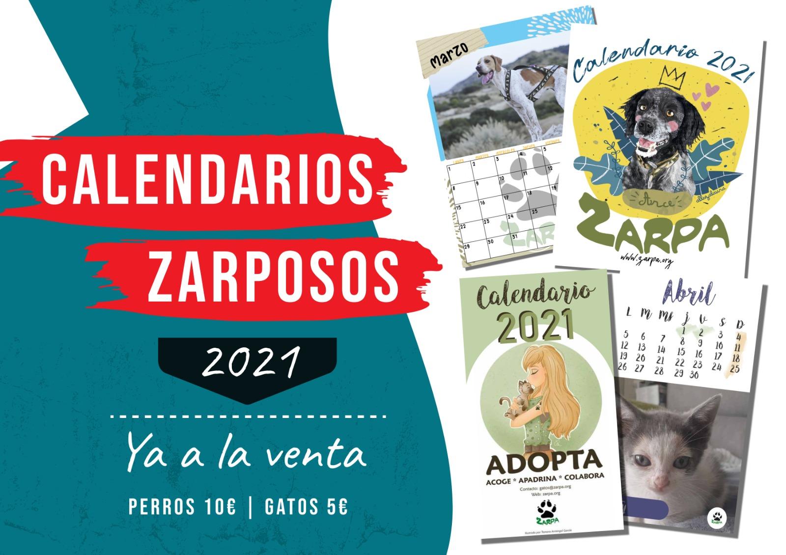 Calendarios Zarposos 2021