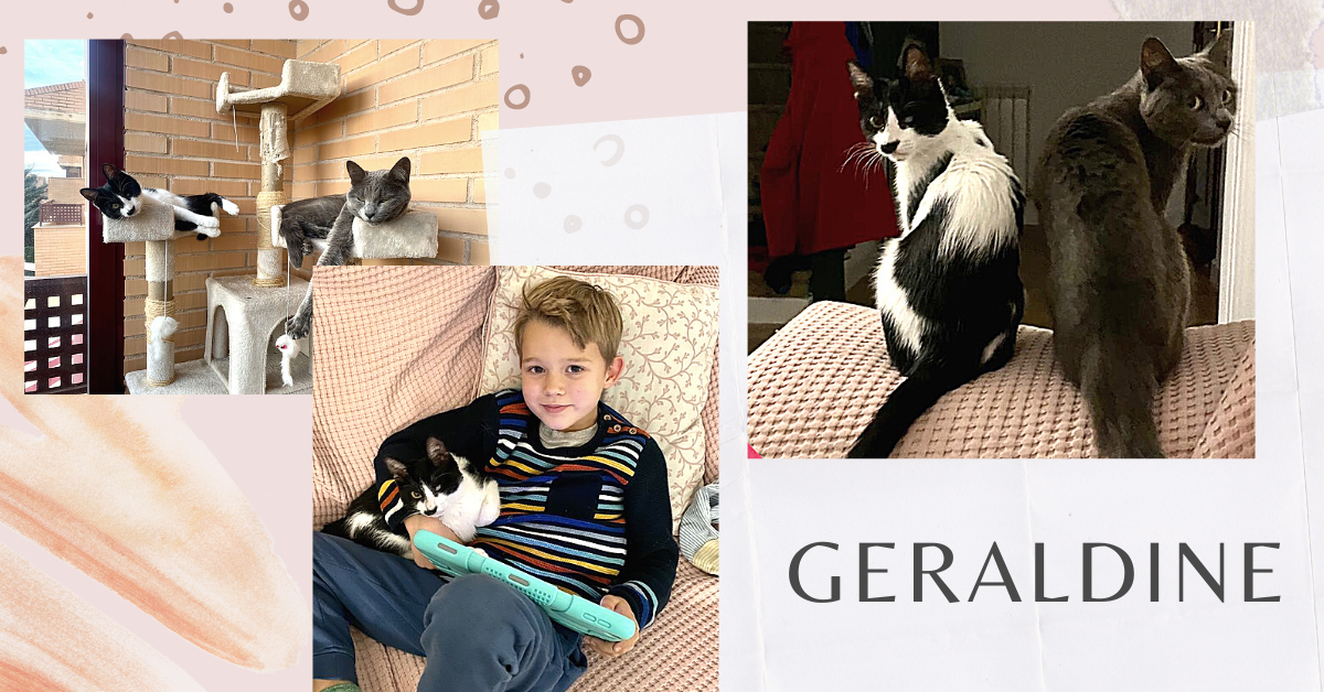 ¡Geraldine adoptada!